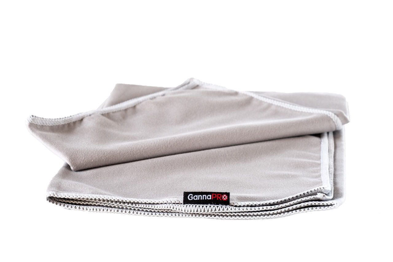 Полотенце из микрофибры GannaPro™ размером 50х80 см серый