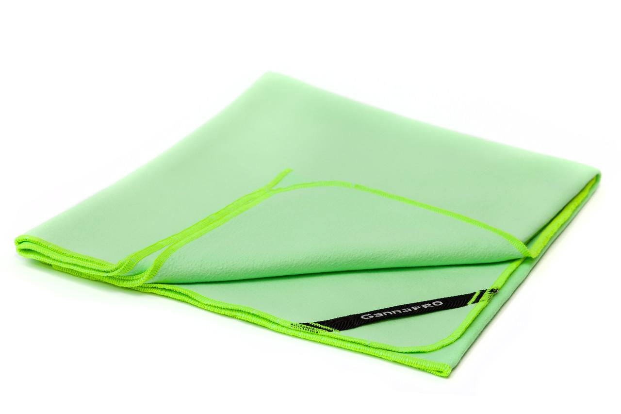 Полотенце из микрофибры GannaPro™ размером 50х80 см зеленый