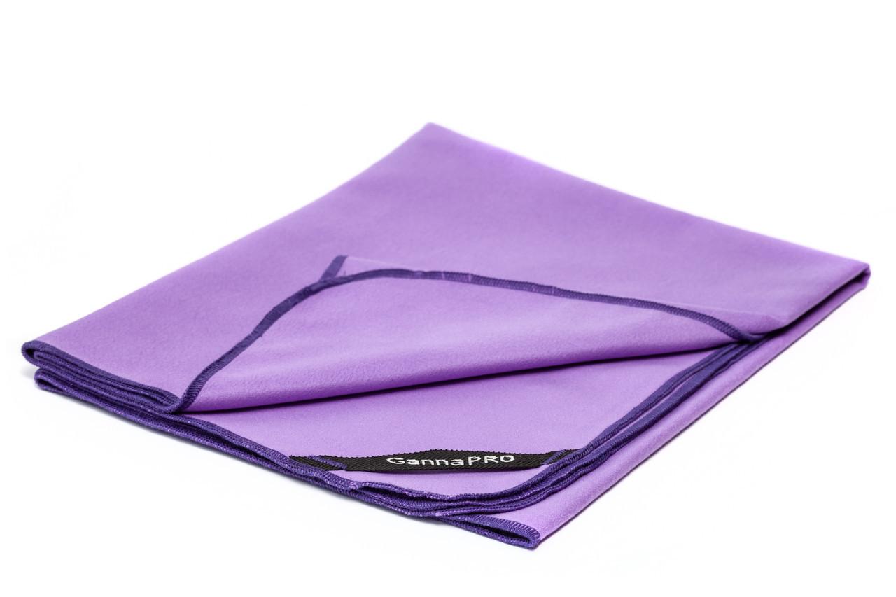 Полотенце из микрофибры GannaPro™ размером 50х80 см фиолетовый