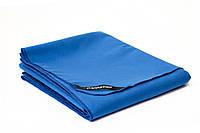Большое полотенце из микрофибры GannaPro™ размером 80х150 см синий