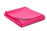 Большое полотенце из микрофибры GannaPro™ размером 80х150 см розовый