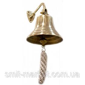 "Колокол рында бронзовый (d-12.5,h-11 см)(5"")(470 г.)"