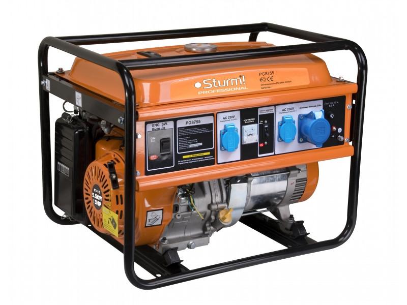 Генератор бензиновый Sturm 5500 Вт PG8755