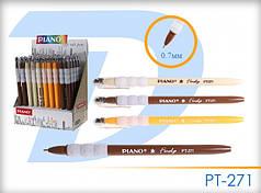 Ручка шариковая масляная Piano PT-271 синяя