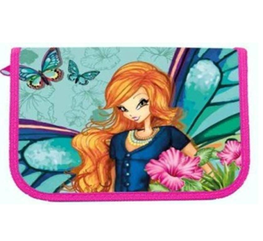 Пенал 1-яр c 1отворотом без наполнения Fairy Flower CLASS 97212