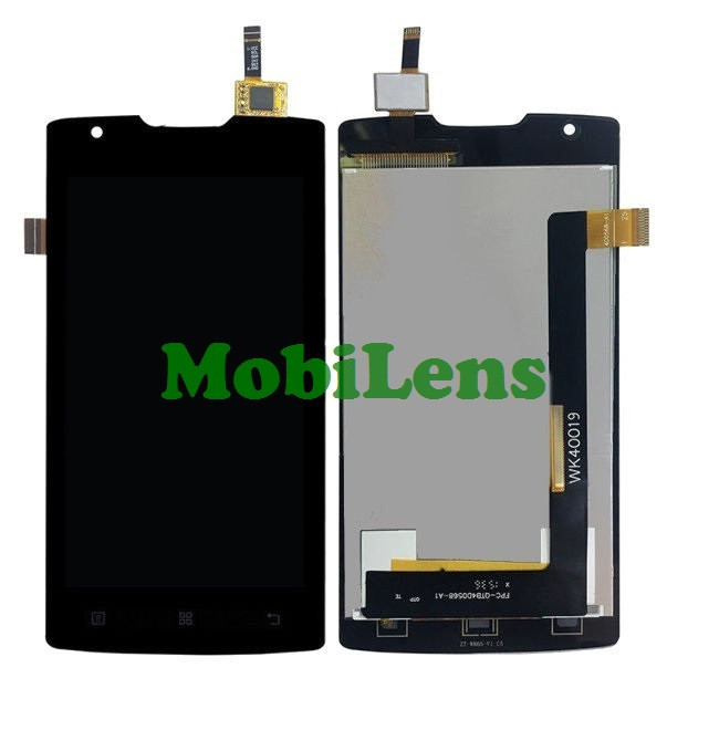 Lenovo A1000 Дисплей+тачскрин(модуль) черный, для смартфона