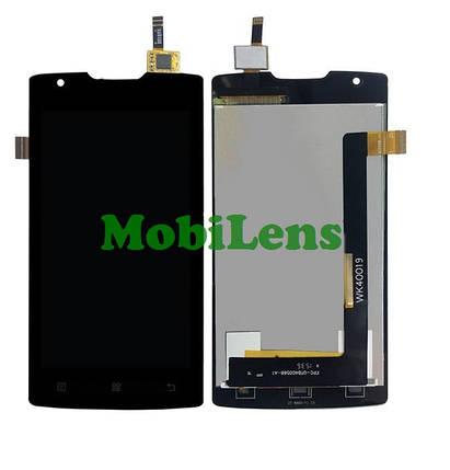 Lenovo A1000 Дисплей+тачскрин(модуль) черный, для смартфона, фото 2