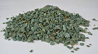 Мраморная крошка Зеленая, мытая (фр.5-10, Закарпатье)