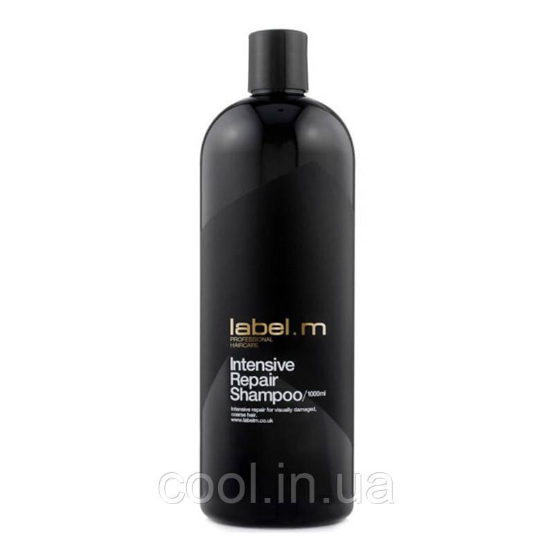 Шампунь для волос Интенсивное Восстановление 1000 мл. label.m