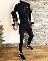 Костюм спортивный мужской Puma ERA черный
