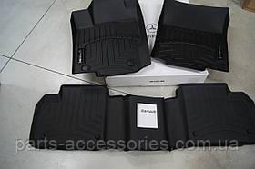 Mercedes W166 ML166 ML350 ML550 ML63 напольные коврики чёрные новые оригинал 2012+