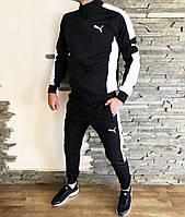 Костюм спортивный мужской черный Puma ERA