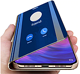 Зеркальный Smart чехол-книжка Mirror для Xiaomi Redmi Note 7 /  Note 7 Pro / Cтекла /, фото 10