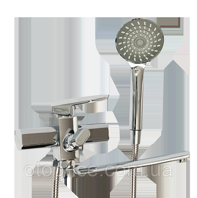 Смеситель для ванны с длинным изливом 133300500 Lidz