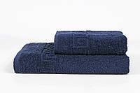 Полотенце Iris Home - Бордюр lacivert синий 70*140