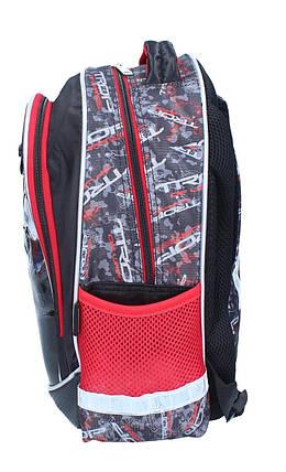 Ранец-рюкзак 2отделения 38*28*19см CLASS 9742, фото 2