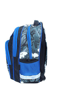 Ранец-рюкзак 2отделения 38*28*19см CLASS 9741, фото 2