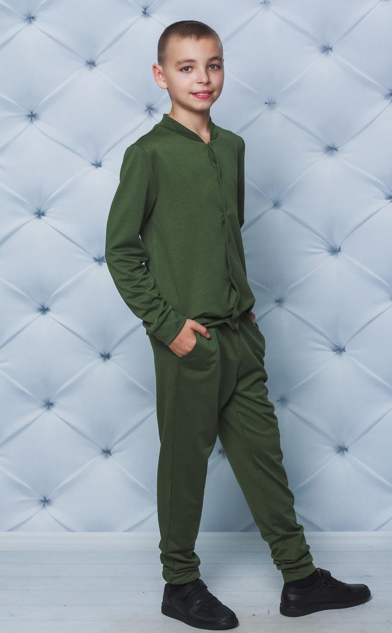 Спортивный костюм для мальчика хаки