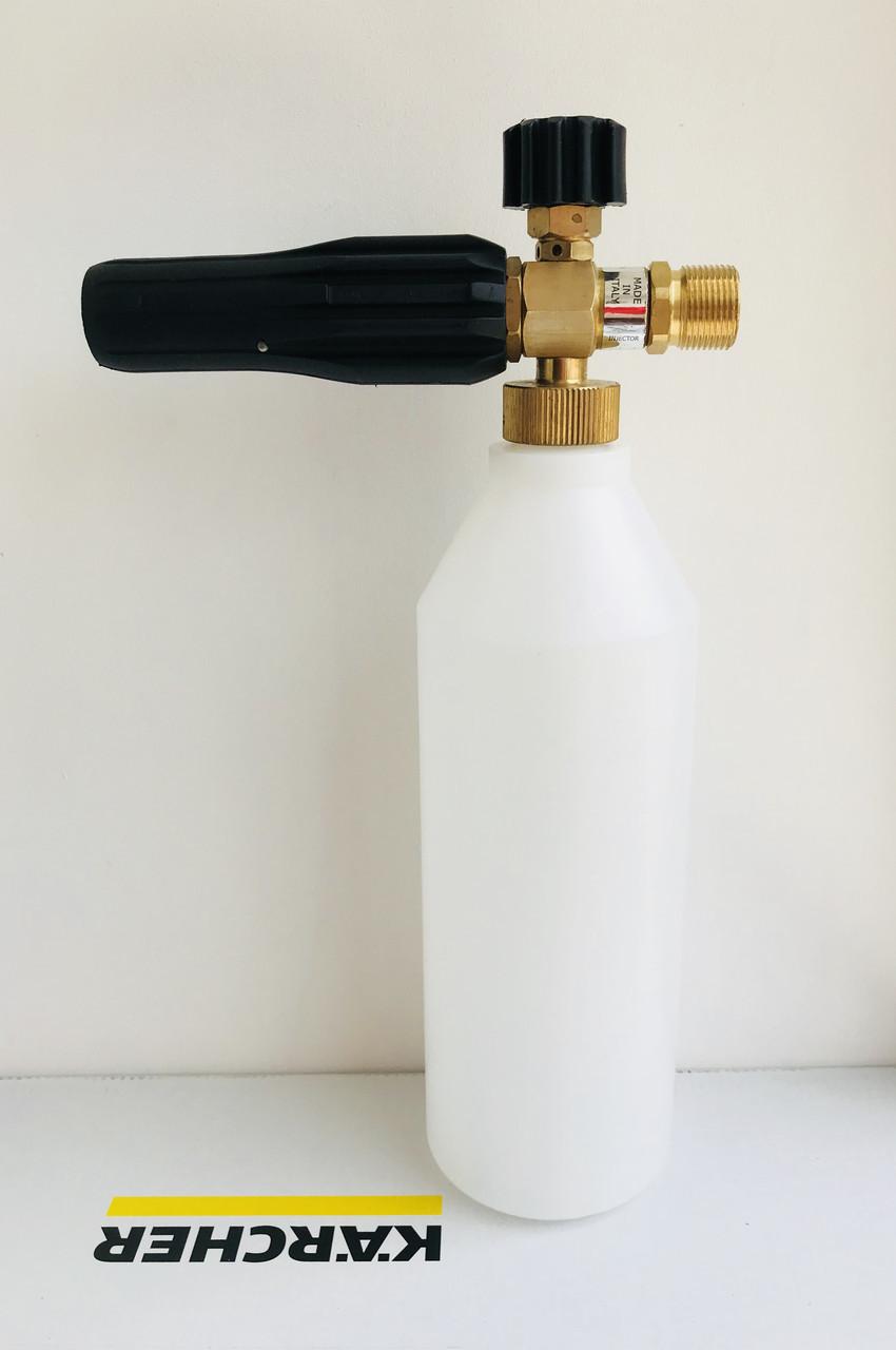 Пенная насадка Idrobase 1л (Италия) Латунь для Kranzle, Oleo-Mac