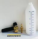 Пенная насадка P.A. 1л (Италия)для Bosch New, Black & Decker, Makita, MacAllister, фото 2