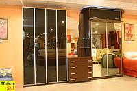 Шкаф-кровать с зеркалом2, фото 1