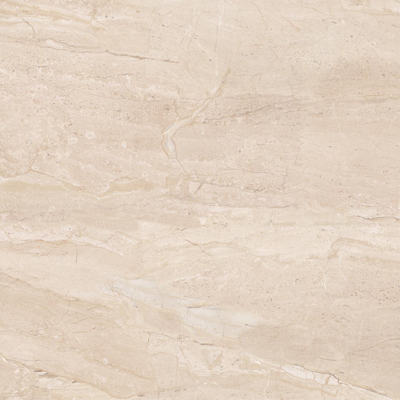 Плитка для пола Marmo Milano бежевый 607x607x10 мм