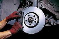 Замена тормозных дисков (с колодками)