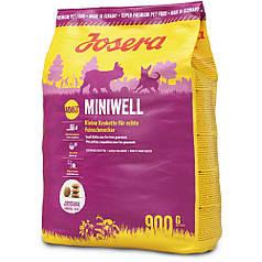 Сухий корм Josera Miniwell (для дорослих собак дрібних порід)