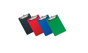 Папка-планшет с клипом А4 PVC цвет в ассортименте 4-258 4Office, фото 2