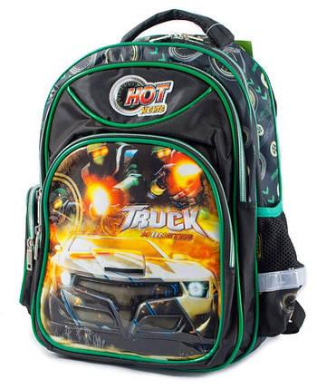 Ранец-рюкзак 2отд 38*28*19см PL CLASS арт 9663, фото 2