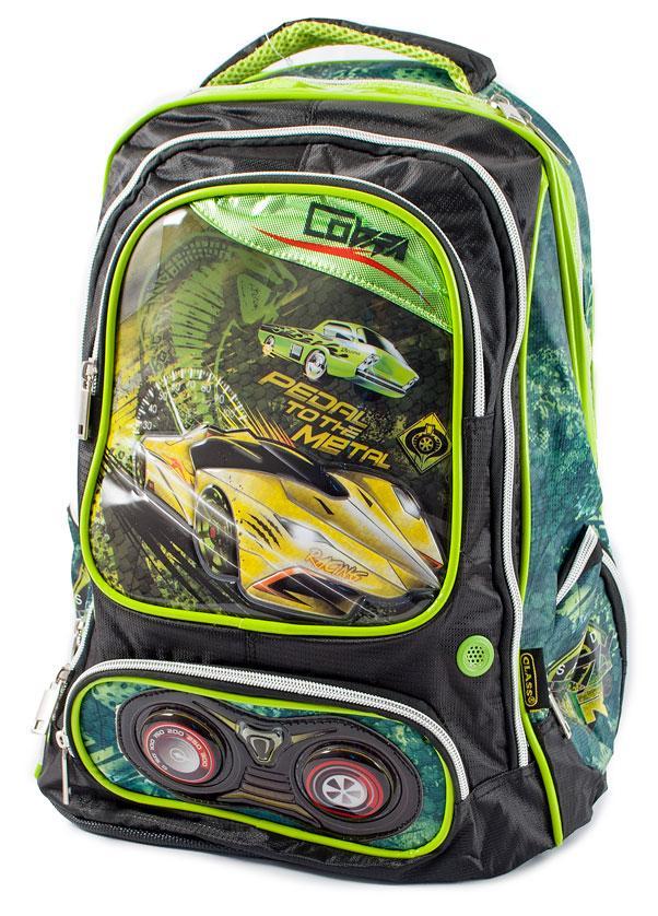 Ранец-рюкзак 2отд 38*28*19см PL CLASS арт 96002