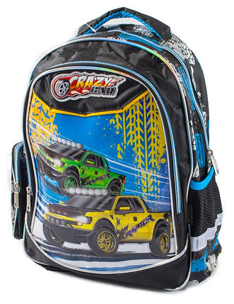 Ранец-рюкзак 2отд 38*28*19см  CLASS арт 96001, фото 2