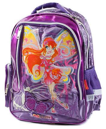 Ранец-рюкзак 2отд 38*28*19см CLASS арт 9698, фото 2