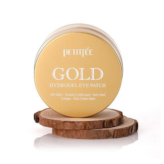 Petitfee Гидрогелевые патчи для кожи вокруг глаз с золотом Gold Hydrogel Eye Patch