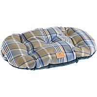 Двухсторонняя подушка для собак и котов Ferplast (Ферпласт) SCOTT 78/8 синяя, 78*50 см