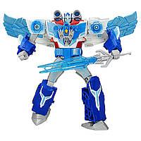 Трансформери: Роботи під прикриттям Заряжений Оптимус Прайм 32 см Hasbro B7066 Роботы под прикрытием
