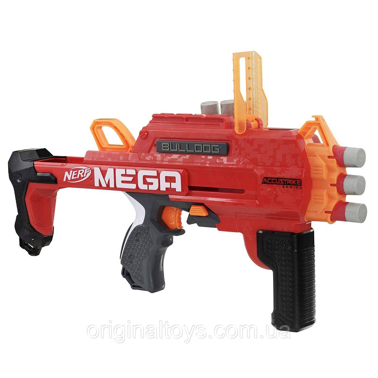 Бластер Nerf Нерф Accustrike Mega Bulldog Hasbro E2657