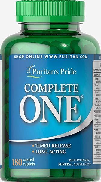 Puritan's Pride Complete ONE (180 капс.)