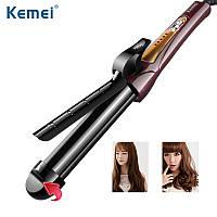 Плойка для завивки волос с регулируемым диаметром Kemei JB-KM-8850