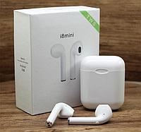 Безпровідні навушники i8 mini TWS з боксом, фото 1