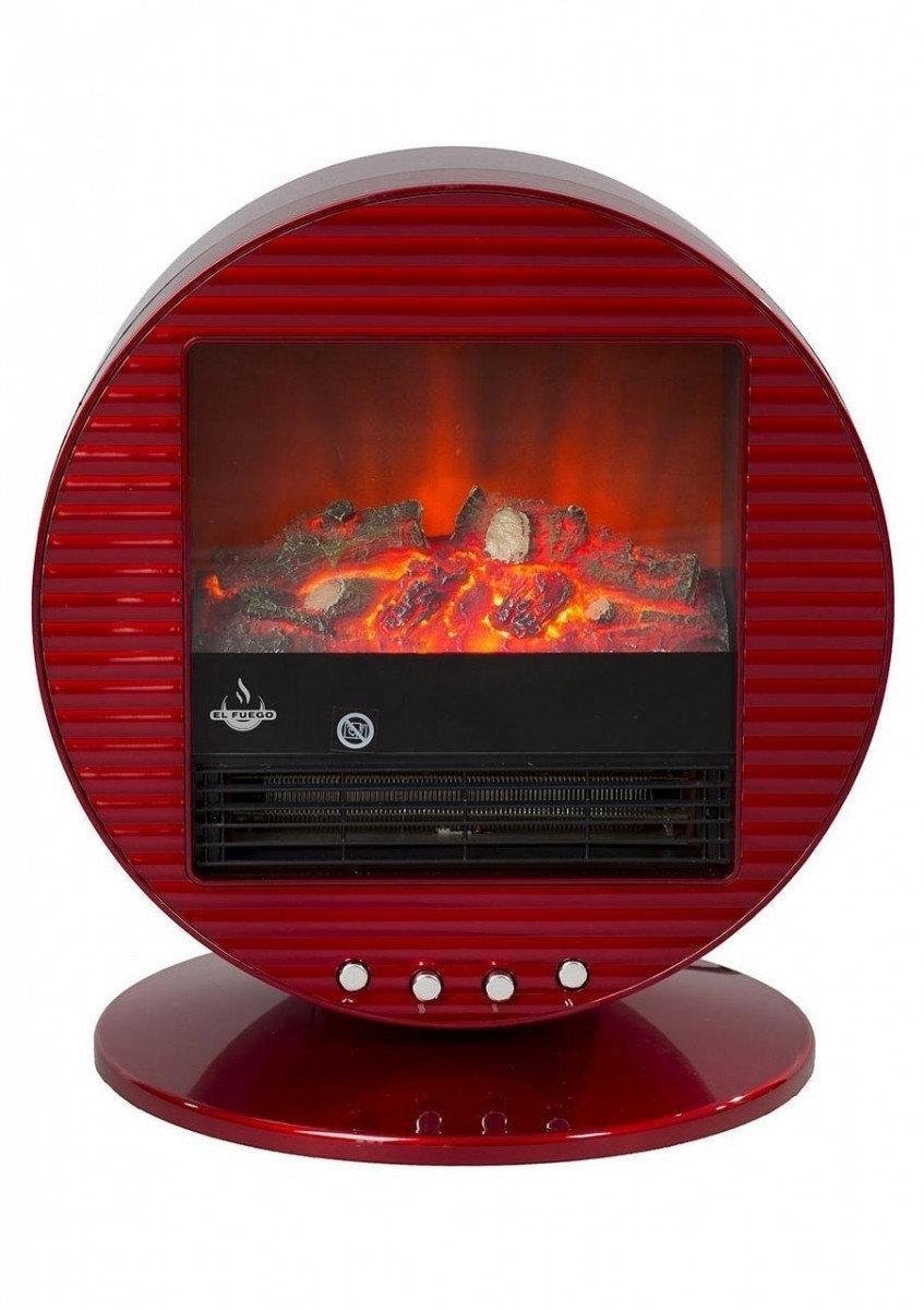 Электрокамин El Fuego Mannheim Красный AY3292