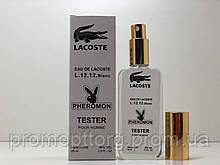 Lacoste Eau De Lacoste L.12.12 Blanc мужской тестер с феромонами 65 ml (реплика)
