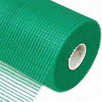Сетка фасадная щелочеустойчивая, зеленая  145 гр/м2