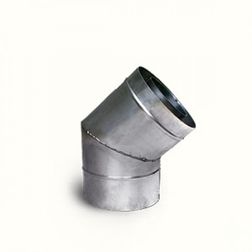 Колено водосточное оцинкованое Ø 100 мм