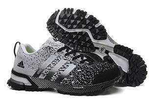 Кроссовки мужские Adidas Adizero Knit 2.0 / ADM-289 (Реплика)