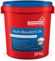 2-компонентный минеральный  эластичный гидроизоляционный шлам с перекрыванием трещин MULTI-BAUDICHT 2K