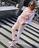 Спортивный костюм  женский Nike (реплика) (Мод 802) В розовом и синем цвете