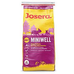 Сухий корм Josera Miniwell (для дорослих собак дрібних порід) 15 кг