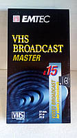 Видеокассеты EMTEC VHS BROADCAST MASTER FOR STUDIO PROFESSIONALS made in Germany