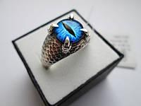 """Чоловічий срібний перстень """"Саорон"""", фото 1"""